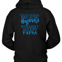 Harry Potter College Problems Hoodie Two Sided