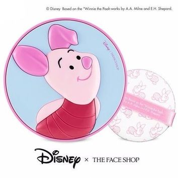 THE FACE SHOP x Disney Winnie the Pooh Piglet CC Cooling Cushion SPF42 PA+++