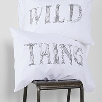 The Rise And Fall Wild Thing Pillowcase - Set Of 2 - Urban Outfitters