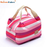 2017 Luxury Brands Picnic Insulated Food Storage Zipper Box Tote Bento Pouch Lunch Bag