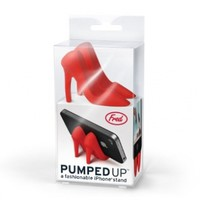 Fred & Friends PUMPED UP High Heel Phone Stand, Red