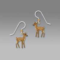 Sienna Sky Earrings - Young Fawn