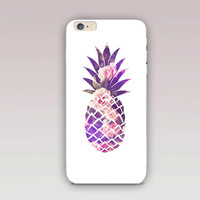 Pineapple Phone Case For - iPhone 6 Case - iPhone 5 Case - iPhone 4 Case - Samsung S4 Case - iPhone 5C - Tough Case - Matte Case - Samsung