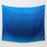 Fish Wall Tapestry by Lindsay Shannon