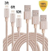 Anker PowerLine Lightning Cable (3ft) Apple MFi Certified Lightning Cable / Charger Cord, for iPhone 7/7 Plus 6/6s Plus 5/5s/5c, iPad mini/Air/Pro iPod touch (White)