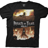 Attack on Titan - Titan on Fire  T-Shirt