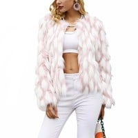 Jaylinca fluffy coat