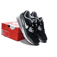 """Nike Air Max 90"" Unisex Sport Casual Multicolor Air Cushion Sneakers Couple Running Shoes"