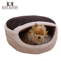 Brand Dog House New Warm Sleeping Cat House Pet Nest Soft Dog House High Quality Cotton Pet Beds For Cats Pets Products  HP834