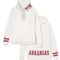 University Of Arkansas Cowl-Neck Pullover - PINK - Victoria's Secret