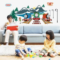 Thomas Train vinyl wall stickers for kids rooms girls boy home decor living room sofa wall decals home decoration wallpaper