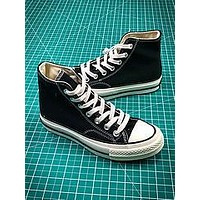 Converse 1970s 157437C Black White High Sneakers Shoes - Sale