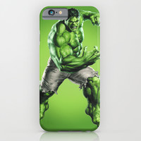 HULK iPhone & iPod Case by Hands In The Sky
