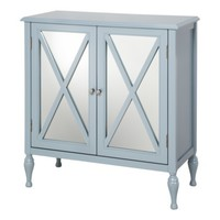 Hollywood Mirrored Accent Cabinet