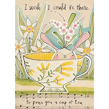 I Wish I Could Be There Greeting Card