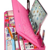 Bluetooth 6 in 1 Keyboard and Organizer with Tablet Stand Restt Color: Pink