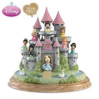 Precious Moments Ultimate Disney Princess Castle Sculpture by The Hamilton Collection