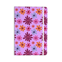 """Jane Smith """"Woodland Floral"""" Purple Flowers Everything Notebook"""