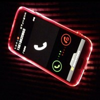 LED Flash Light Up Incoming Call Case For Samsung