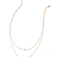 Pearl Trio Layered Necklace