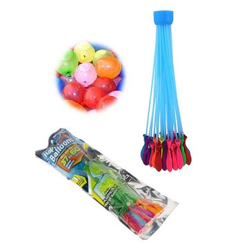 37 Self Sealing Water Avalon's in 60sec! Set of 3/111 balloons total