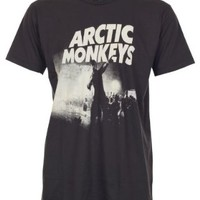 Lectro Arctic Monkeys T-Shirt Live Concert Rock New Black Tee