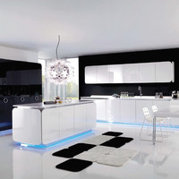 Fitted kitchen It-Is Collection by Euromobil   design Simone Micheli