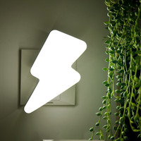 Creative Lightning Sound & Light Controlled LED Night Lamp