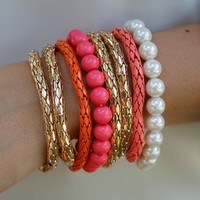 Maci Textured Bracelet Set