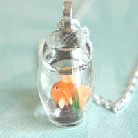 fishbowl necklace