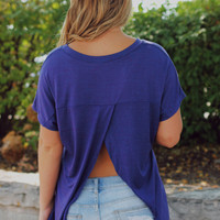 My Monday Top - Indigo