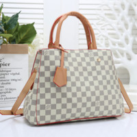 Louis Vuitton Women Fashion Leather Tote Crossbody Shoulder Bag Satchel