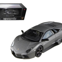 Lamborghini Reventon Flat Black Elite Limited Edition 1-43 Diecast Model Car by Hotwheels