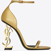 YSL 2019 new women's ultra-high heel stiletto with a high heel 15#