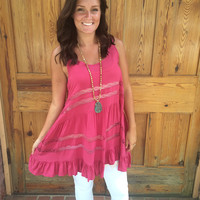 Flowy and Free Tunic