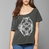 Truly Madly Deeply Reflected Birds Tee - Urban Outfitters