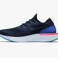 1803 Nike Epic React Flyknit Men's Training Running Shoes AQ0067-400