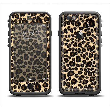 The Small Vector Cheetah Animal Print Apple iPhone 6 LifeProof Fre Case Skin Set