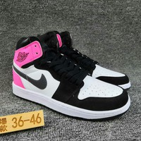 Women's and Men's NIKE Air Jordan 1 generation high basketball shoes  004