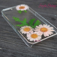 iPhone 6 case, Phone case, Real pressed flowers , iPhone 6 Plus, iPhone 5S case, iPhone 5c case, samsung s5 case, Note3 case, Phone case-F43