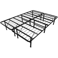 Queen-Size Steel Folding Metal Platform Bed Frame