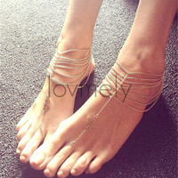 love fashion anklet bracelet