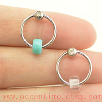 earring,Tragus Earring, Cartilage Hoop,Cartilage Earring ,Helix Cartilage jewelry,friendship gift,oceantime