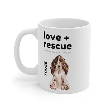 love + rescue Mug — Cocker Spaniel