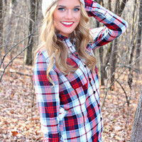 Brushfire Flannel Top