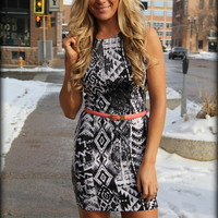 Feeling Sly Printed dress - Filly Flair