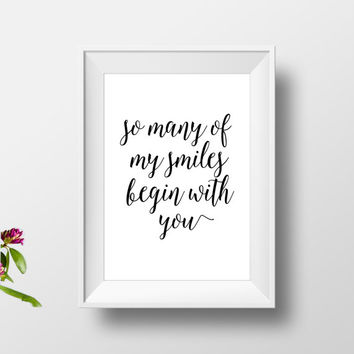 Love gift for boyfriend, love print, love quote print,modern decor, valentines day, gift for wedding, love gifts for him, anniversary print