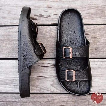 Black Buckle™ - Pali Hawaii Sandals