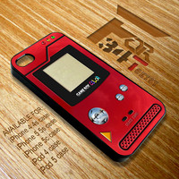 Apple iPhone and iPod case cool Pokeball pokedex iphone 4 4s, iphone 5 5s 5c, iPod touch 4, ipod 5 case cover