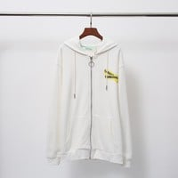 Wholsale women or men OFF-White jacket Sweatshirt 501965868-086